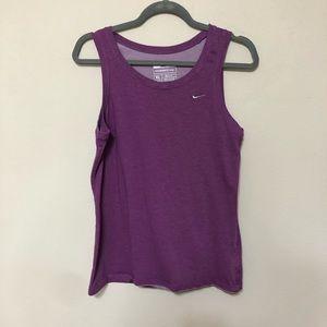 Purple Nike Fit Dry Sports Tank Sz XL